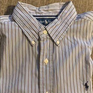 Ralph Lauren striped dress shirt Men's Large